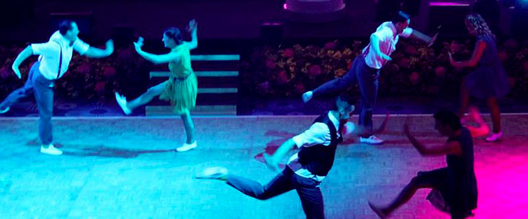 dancers performing the lindy hop