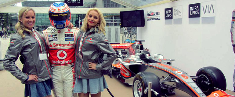 meet and greet at the silverstone formual 1 grand prix