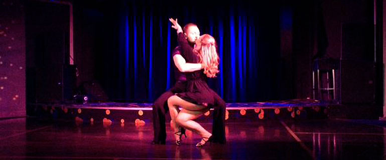 ballroom dancing with Brittany Ferries