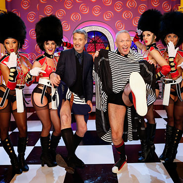 Queens Guard Showgirls on the Eurotrash TV special