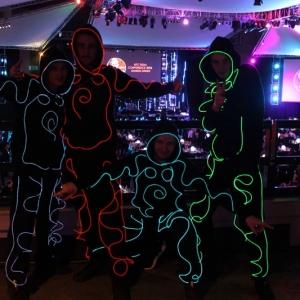 LED Dancers