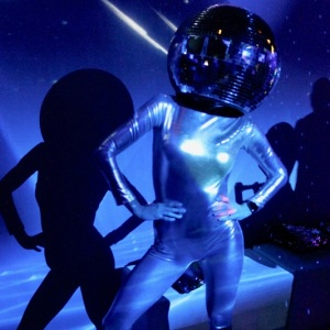 Disco Ball Head Dancers