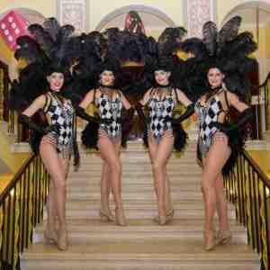 Black-and-White-Showgirls