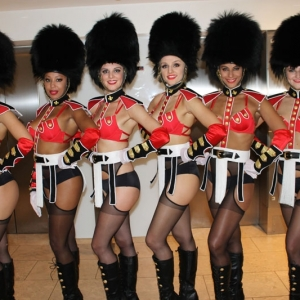 Queens Guard Showgirls