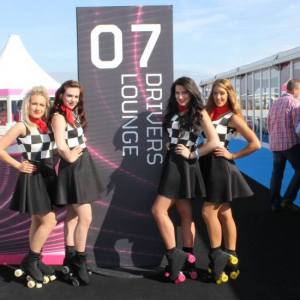 Roller-Skaters-at-The-Grand-Prix